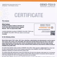 Oeko-Tex Standard 100 - Class II For Fabrics as per the latest ALDI requirement with Annexure 6